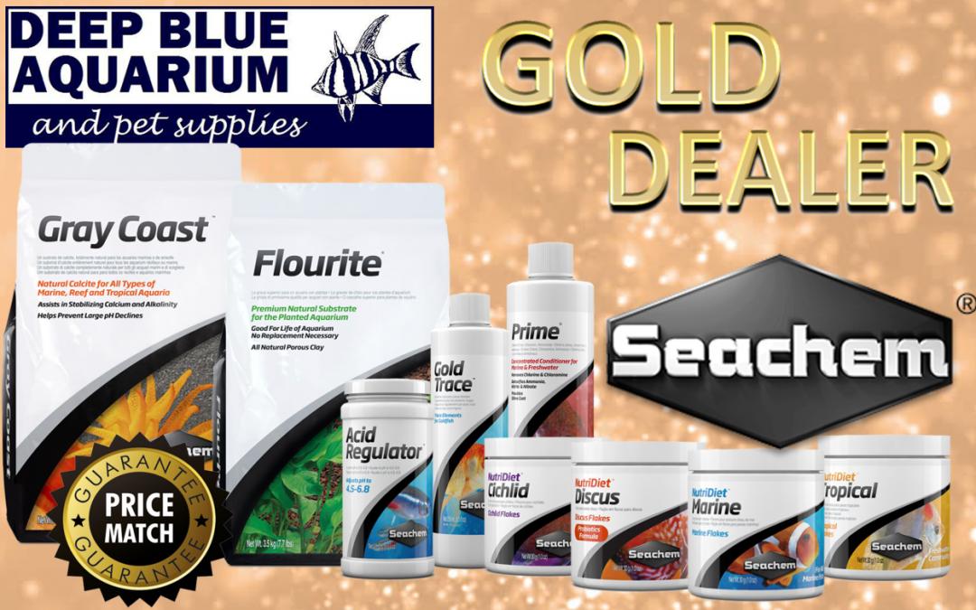 *Seachem Gold Dealer